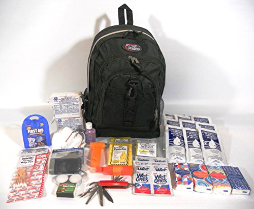 3 Day Emergency Survival Kit 2 Persons Disaster Earthquake Zombies 2 Bug Out Bag by other