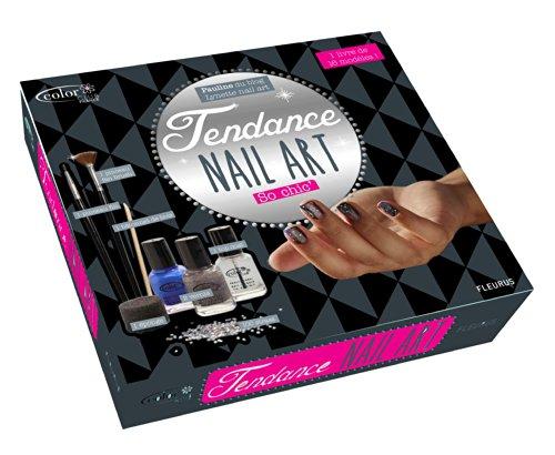 Tendance nail art so chic' : Avec 3 vernis, 2 pinceaux, 100 strass