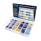 Capri Tools 10025 Capri Tools Electrical Terminal Assortment Set, 360-Piece