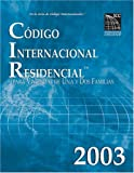 2003 International Residential Code-Spanish Edition, International Code Council Staff, 1580013198
