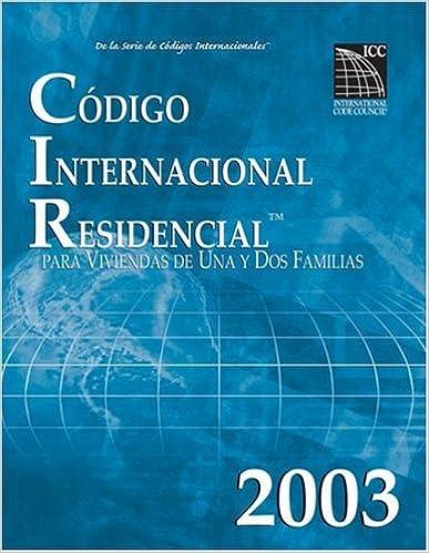 2003 International Residential Code Spanish Edition