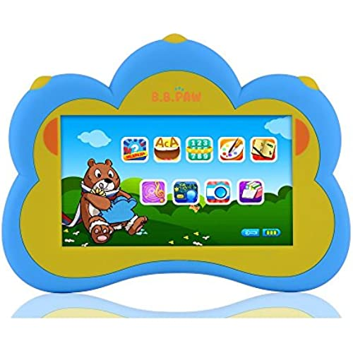 B.B. Paw Plus Kid' Learning Tablet for ages 3 to 6, Blue Coupons