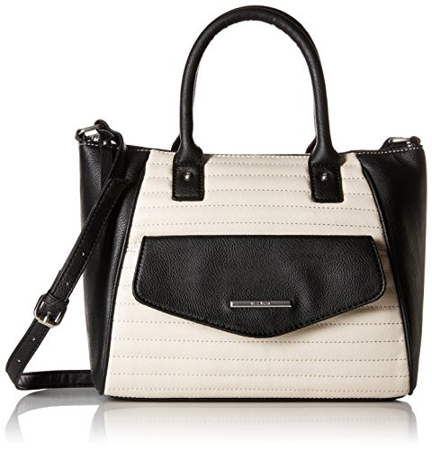 Nine-West-Natural-Talent-Satchel-MilkBlack