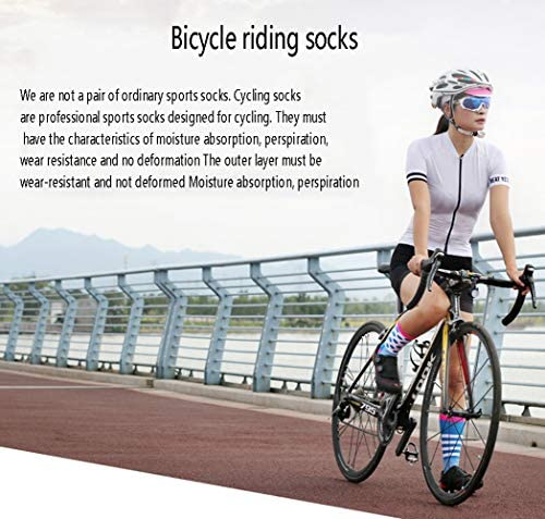 FENGSHUAI Calcetines Deportivos de Ciclismo, Bicicletas de ...
