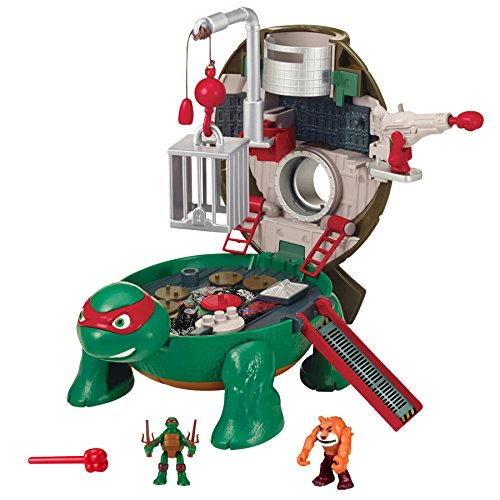 Teenage Mutant Ninja Micro Raphael's Roof Top Pet Turtle To Playset (Teenage Mutant Ninja Turtles Bad Guys)
