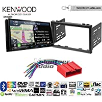 Volunteer Audio Kenwood Excelon DNX994S Double Din Radio Install Kit with GPS Navigation Apple CarPlay Android Auto Fits 2001-2002 Mazda 626