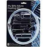byHomeSource Itty Bitty Micro Dusting Kit, 8 Piece Tool Kit with Adapter