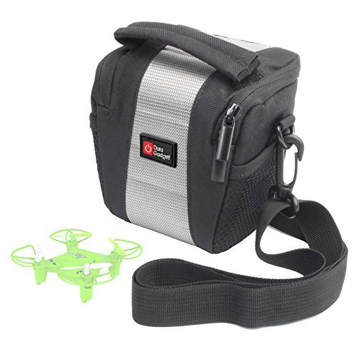 DURAGADGET Shock-Absorbing Water-Resistant Drone Case in Cross-Body / Shoulder Bag Style for the PNJ LS-Pico Quadcopter