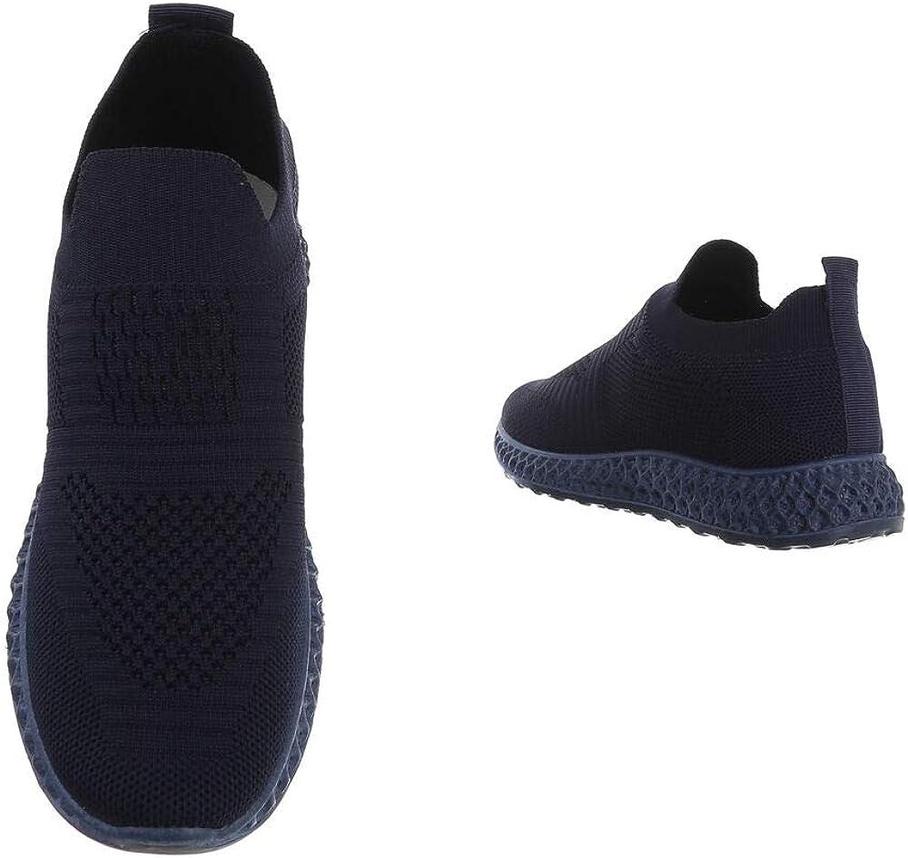 Ital-design Chaussures De Loisirs Pour Femme Bleu Foncé 4388