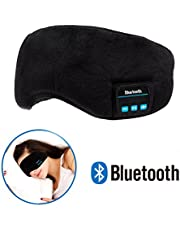 Auriculares de Dormir Bluetooth - Navly Máscara de Sueño,Auriculares de Música,Bloqueo de Luz,Lavables para Viajar