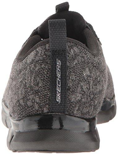 Skechers Sport Womens Gratis Lacey Fashion Sneaker Black