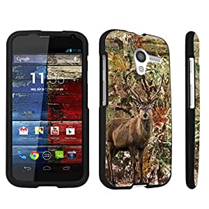DuroCase ? Motorola Moto X 2013 First Generation Hard Case Black - (Hunter Deer Camo)