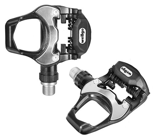 WELLGO LOOK COMPATIBLE BIKE PEDALS ROAD