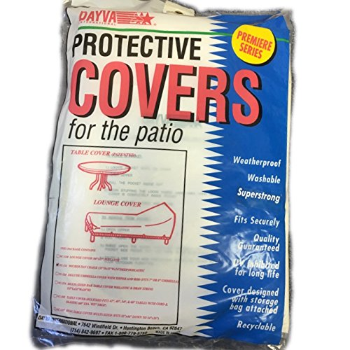 Protective Cover for the Patio Wicker Day Chaise (Dayva Furniture Covers)