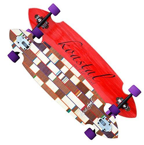 プログレッシブデラックスドロップComplete Longboard Skateboard Trucksパリ B06XJB213M