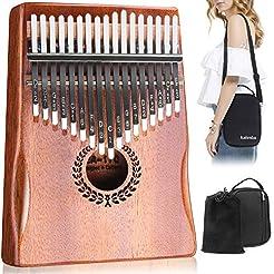 Kalimba 17 Keys Thumb Piano, Easy to Lea...