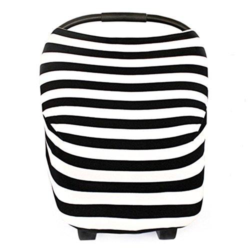 Black And White Polka Dot Stroller - 5