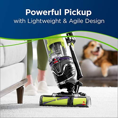 BISSELL Pet Hair Eraser Turbo Plus Lightweight Upright Vacuum Cleaner, 24613