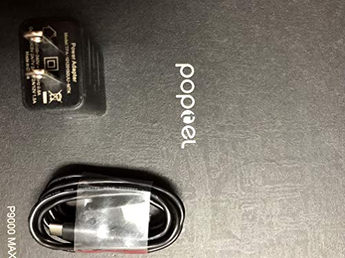 PoptelUSA P9000 Max (Replacement AC Adapter Charging Cable)