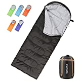 Emonia Camping Sleeping Bag,Three Season Waterproof Outdoor Hiking Backpacking Sleeping Bag Perfect for Traveling,Lightweight Portable Envelope Sleeping Bags for Adults,Kids,Girls and Boys