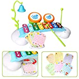 HOMOFY Baby Toys Xylophone for Kids Rainbow