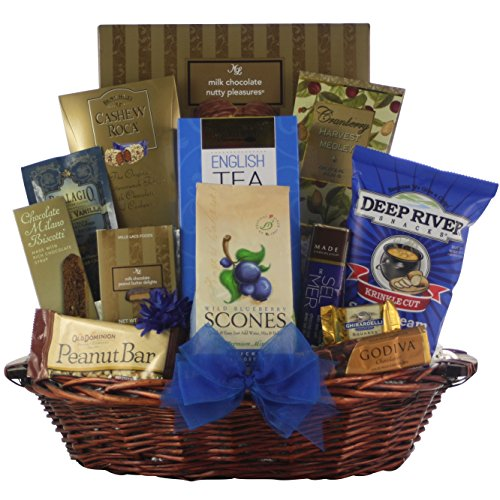 GreatArrivals Happy Hanukkah Gourmet Kosher Gift Basket