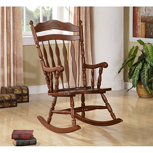 new products 12e9e 4848d Wildon Home® Grande Ronde Solid Wood Rocking Chair with ...