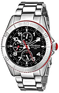 Armitron Men's 20/4810RDSV Stainless Steel Dress Watch