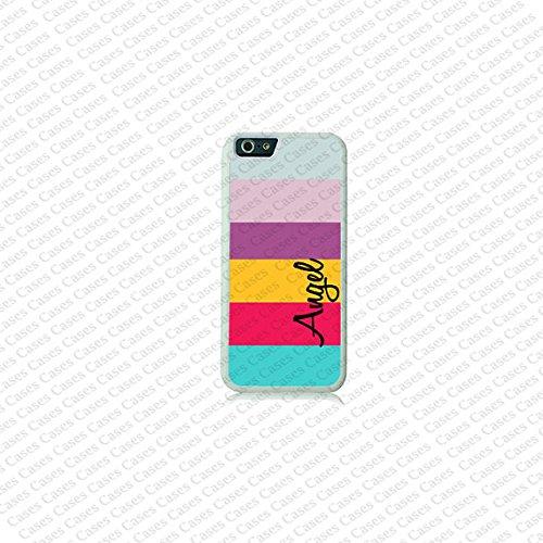 Krezy Case Stripe Pattern Monogram iPhone 6 Case, Monogram iPhone 6 Cover, Custom iPhone