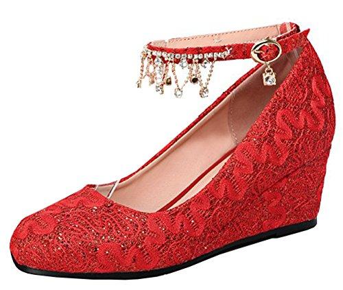 Scarpe Da Donna Con Cinturino Alla Caviglia E Cinturino Alla Caviglia Con Cinturini Alla Caviglia