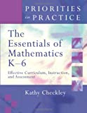 The Essentials of Mathematics, K-6, Kathy Checkley, 1416603697