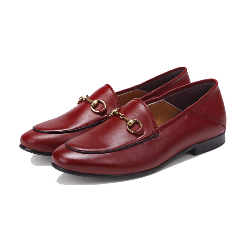 NIUMT Business , Lackleder, Casual , Mode , Lackleder, , Atmungsaktive,  Niedrig Top Schuhe, Faule Schuhe, Bequem ROT f2848e aeb7f63118