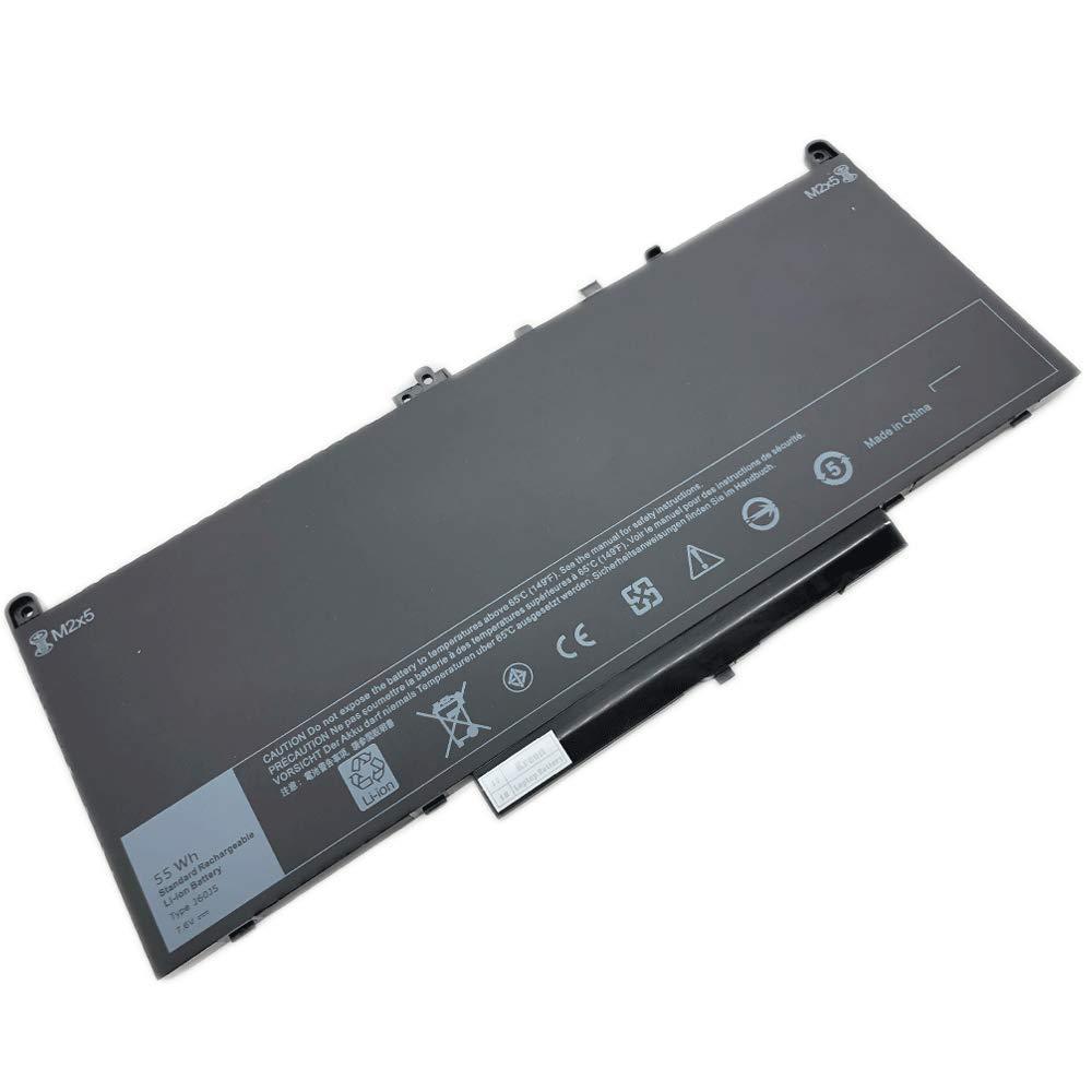 Kreen J60J5 7.6V 55Wh New Laptop Battery for Dell Latitude E7270 E7470 Series 1W2Y2 242WD J60J5 MC34Y - 12 Months Warranty
