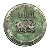 REUZEL Grease Medium Hold Pomade Hog, Green, 12 oz.