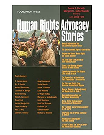 Amazon Com Human Rights Advocacy Stories Law Stories Ebook Deena Hurwitz Margaret