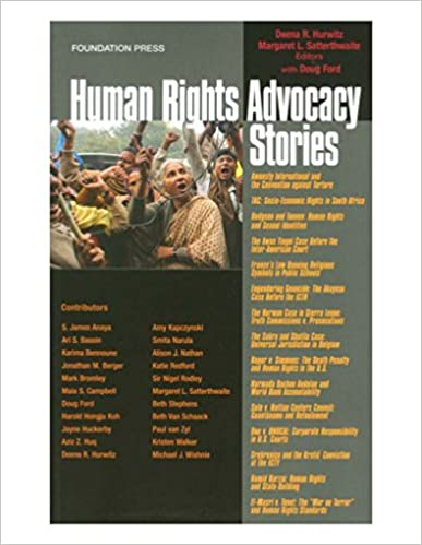 Amazon com: Human Rights Advocacy Stories (Law Stories) eBook: Deena
