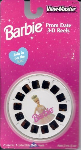 Barbie's Prom Date 3d View-Master 3 Reel Set
