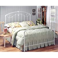 Hillsdale Maddie Headboard - Full/Queen - Rails Not Included, Glossy White