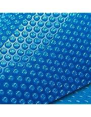 AURELAQUA 8.5 x 4.2m Solar Swimming Pool Cover Blanket Blue