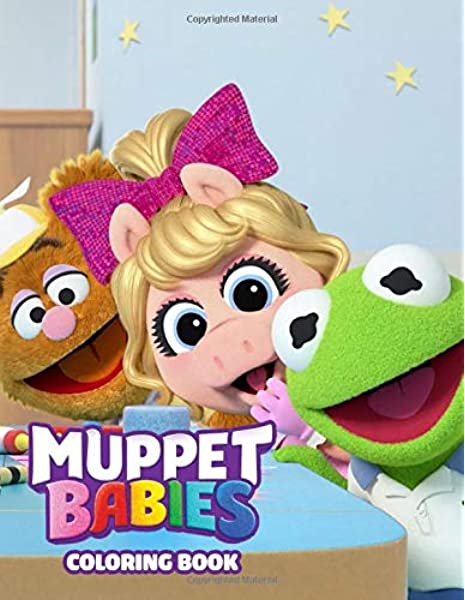 Muppet Babies Coloring Book Great Coloring Book For Kids And Fans Giant 110 Pages With High Quality Images Ceisti Saieao 9798680052143 Amazon Com Books