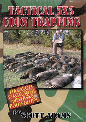 DakotaLine DVD - Scott Adams-Tactical 5x5 Coon Trapping ()