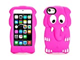Griffin Pink Elephant KaZoo Protective Kids case for iPod touch (5th gen & 6th Gen) - Fun animal friends for iPod touch (5th gen)