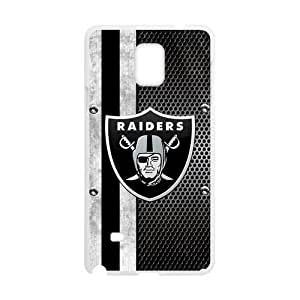 Oakland Raiders Samsung Galaxy Note 4 Hard Back Case Cover