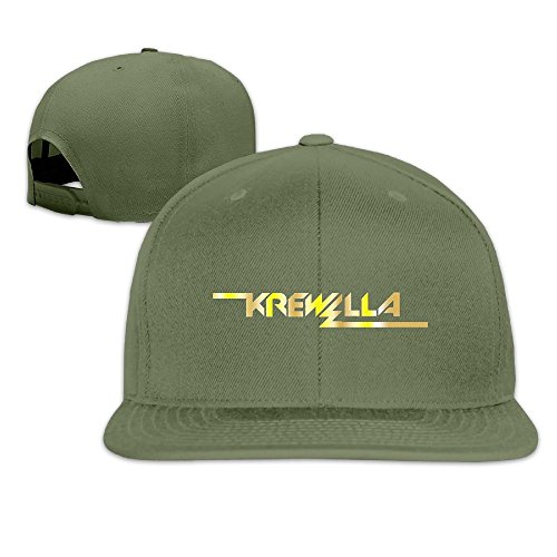 Nquqiyilu Mens Krewella Logo Gold Style Logo Cool Hip-Hop, used for sale  Delivered anywhere in USA