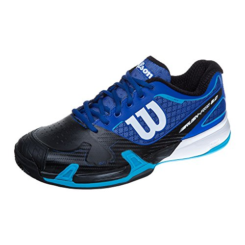 Wilson Rush Pro 2.0 Clay Court Surf The W, Scarpe da Tennis Uomo Blu (Azul)