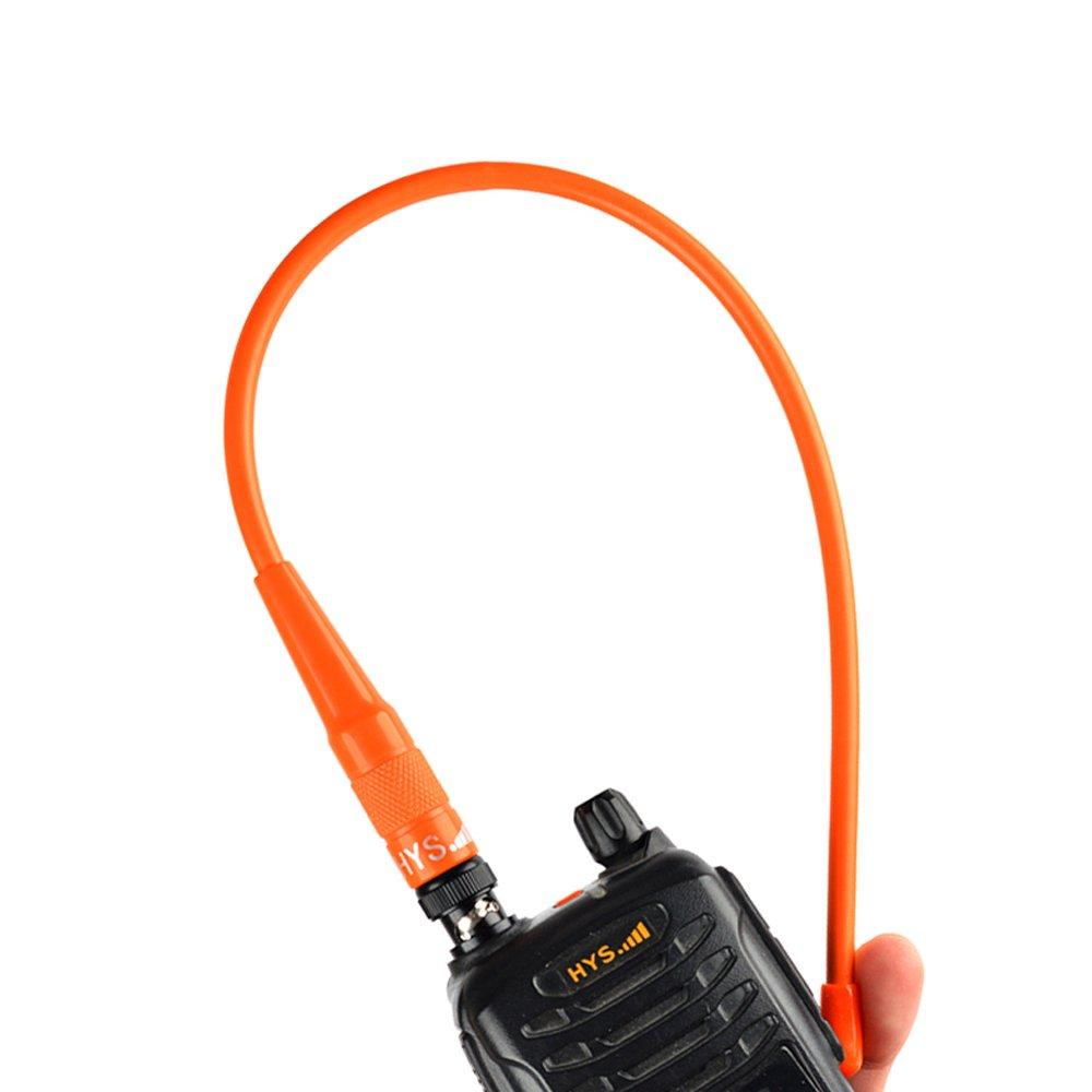LIMITED HYS-771 BNC OR HYS-771 144//430 MHz Dual-Band High Gain Handheld BNC 15.6 inches Antenna For ICOM V8 V80 V80E V82 V85 F3S HT-66 VHF//UHF Radio QUANZHOU TRUEST COMMUNICATION CO