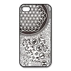 iphone4 4s case , Bring Me The Horizon iphone4 4s Cell phone case Black-YYTFG-18187