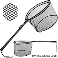 PLUSINNO Fishing Net Fish Landing Net, Foldable...