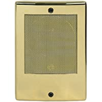 M&S Systems DMC Intercom Door Station, Bright Brass (BD3N)