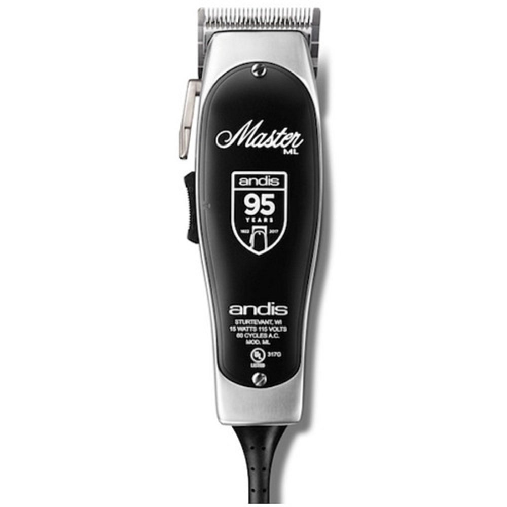 Andis Master 95th Anniversary Limited Edition Adjust Blade Clipper (12505) W/ #0, #1 combs